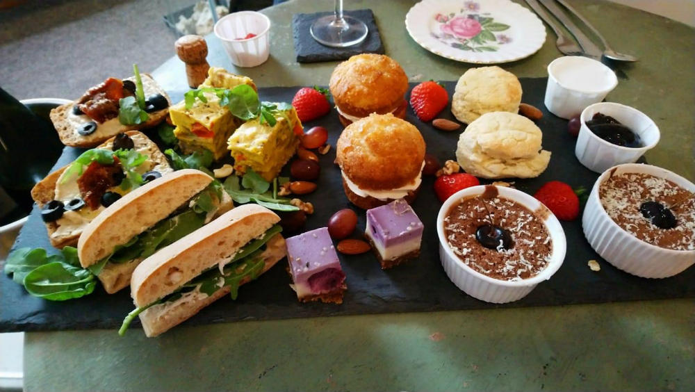 Wellbeing Lounge Vegan Cafe Keighley - Afternoon Tea